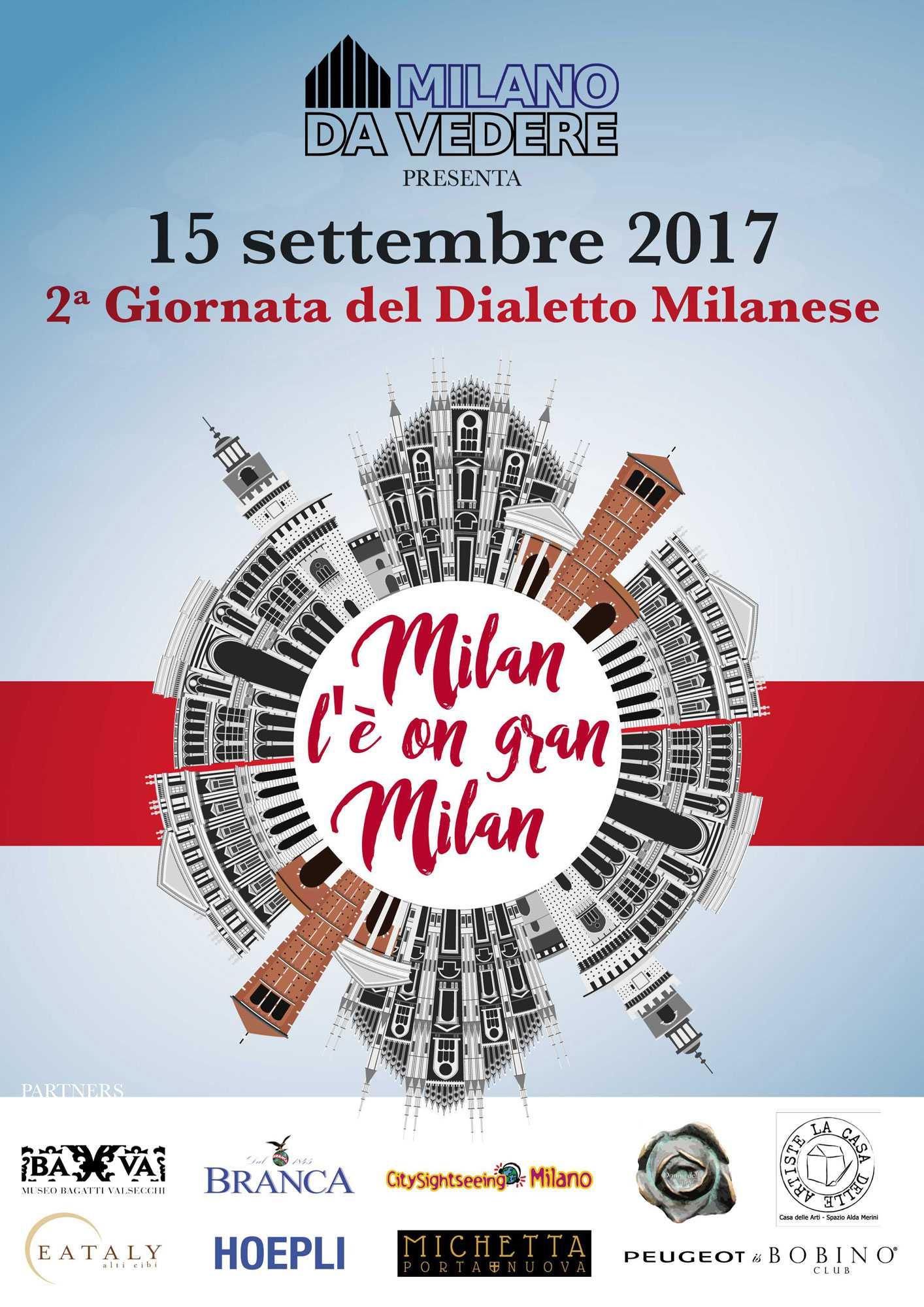 dialetto milanese giornata ufficiale