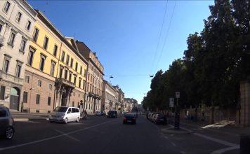 Corso Buenos Aires all'inizio del video