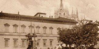Palazzo Arcivescovile in una foto d'epoca