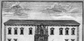 Palazzo del Capitano in una immagine d'epoca