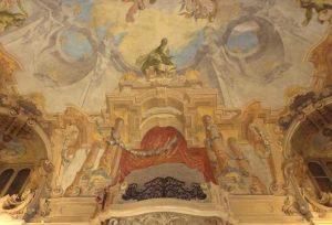 Palazzo Visconti in via Cino del Duca