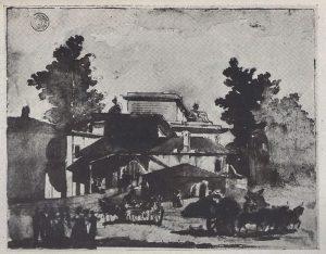 Prima d Porta Garibaldi ecco porta Comasina
