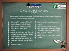 Corso online dialetto milanese - lezione 58