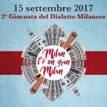 15 settembre giornata dialetto milanese