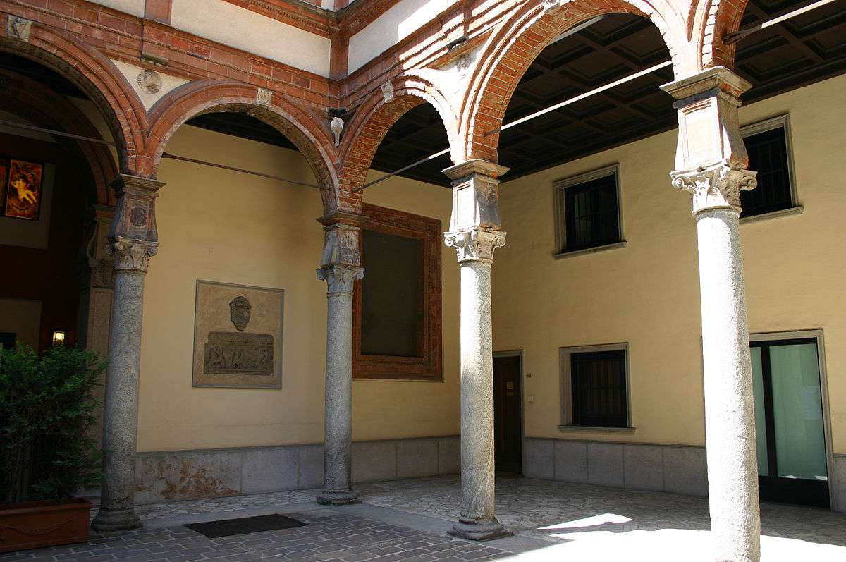 palazzo Pozzobonelli Isimbardi. Foto di Giovanni Dall'Orto