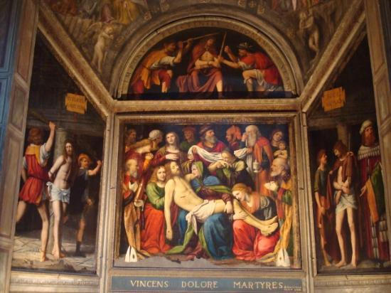 Chiesa di san Giorgio a due passi da via Torino