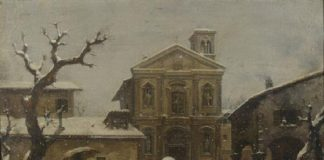 Santo Stefano in Borgogna in un dipinto di Inganni