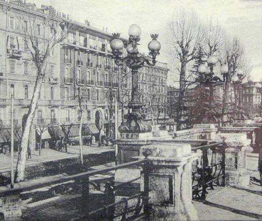 Bastioni spagnoli nell'immagine storica quelli di porta venezia