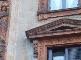 pantaleone prado la facciata della casa in via Bramante