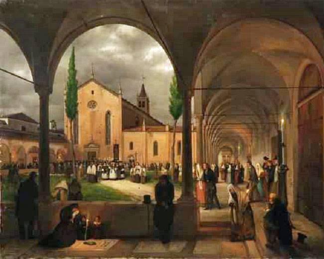 via Lanzone san Bernardino alle monache