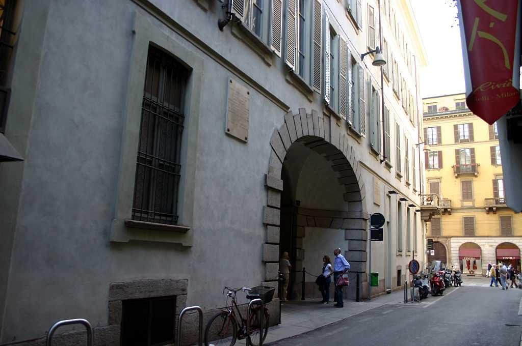 Palazzo Olivazzi - foto Giovanni dall'Orto