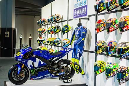 collezione caschi Valentino Rossi