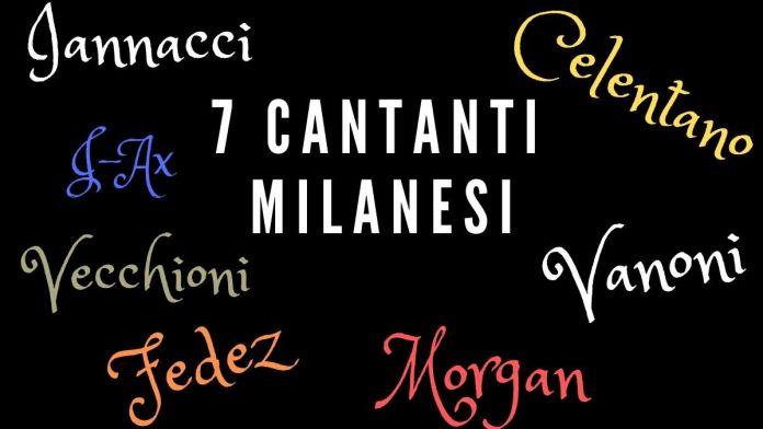 Sette cantanti milanesi