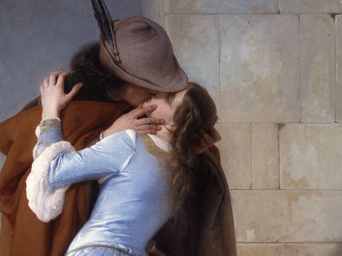 Sette posti dove scambiarsi un bacio