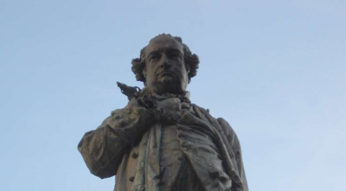 Cesare Beccaria (monumento di) foto di Giovanni dell'Orto