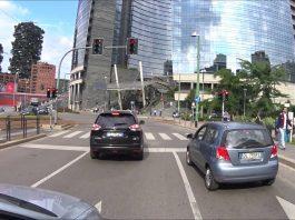 Per le strade di Milano