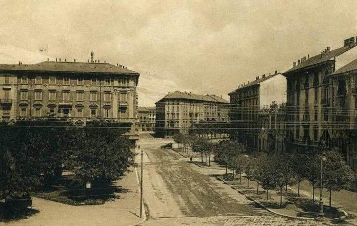 Da piazzale Baracca a porta Lodovica