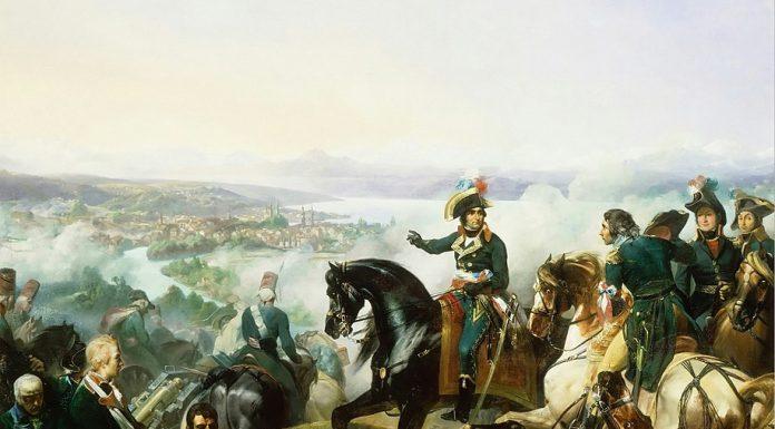 Massena battaglia di Zurigo