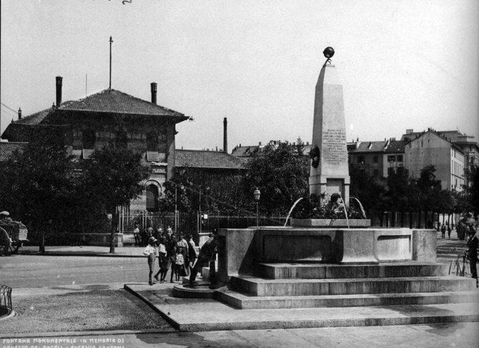 fontana piazza De Angeli
