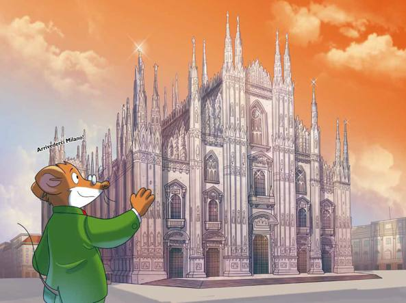 Elisabetta Dami: il suo Geronimo Stilton a Milano