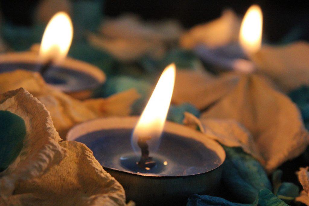 cena delle candele
