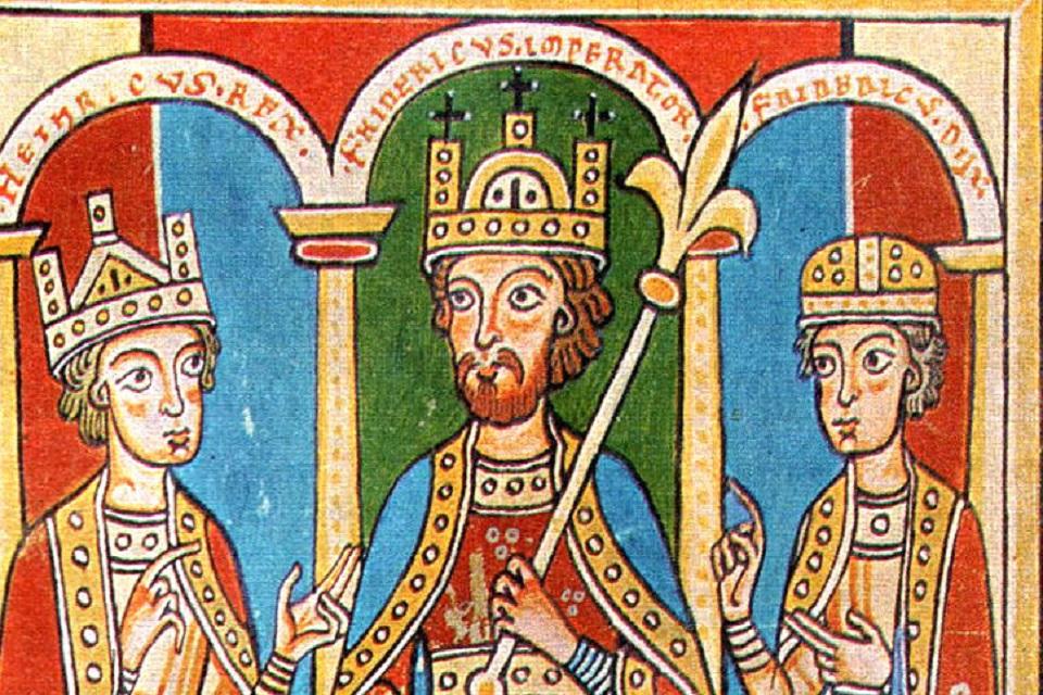 la prima discesa in Italia del Barbarossa