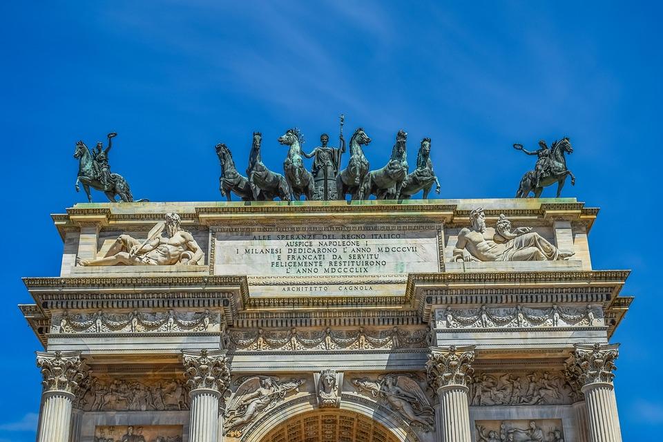 Alla scoperta della Milano napoleonica Fonte: Pixabay Autore: dimitrisvetsikas1969