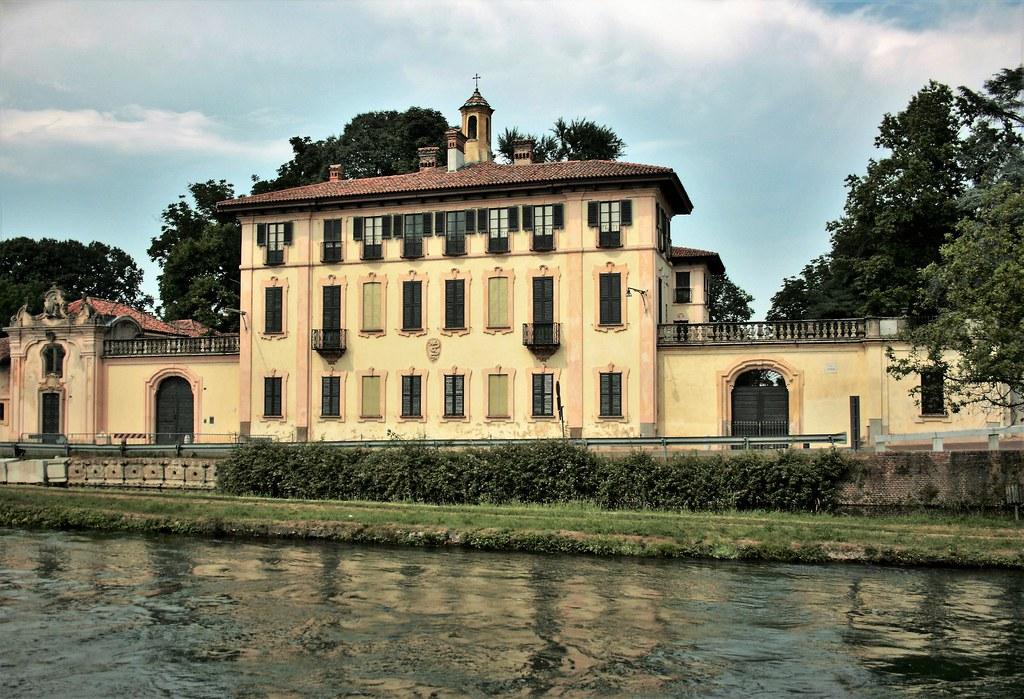 Villa Visconti a Cassinetta di Lugagnano