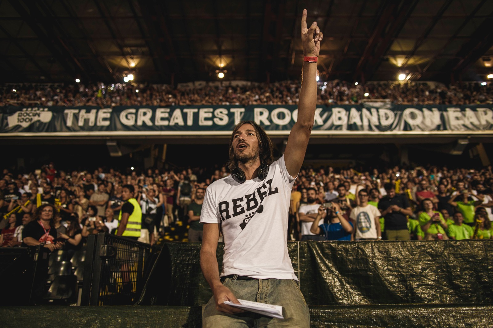 Fabio Zaffagnini - General Manager Rockin'1000 - ritratto di Andrea Bardi