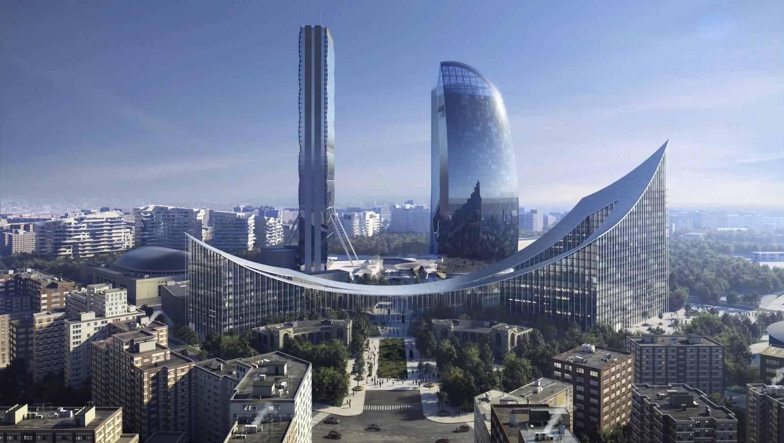 Milano, nuovi grattacieli all'orizzonte