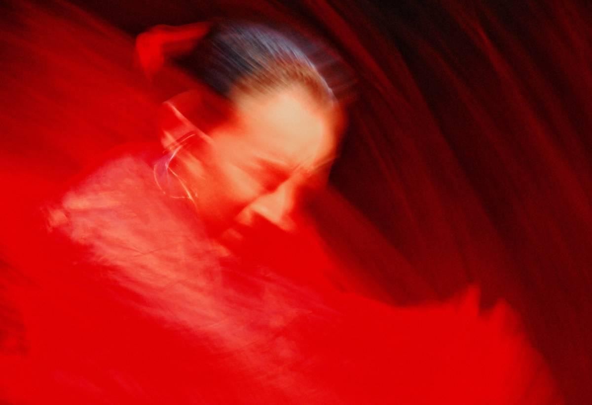 Rosso la mostra fotografica da chef Borghese