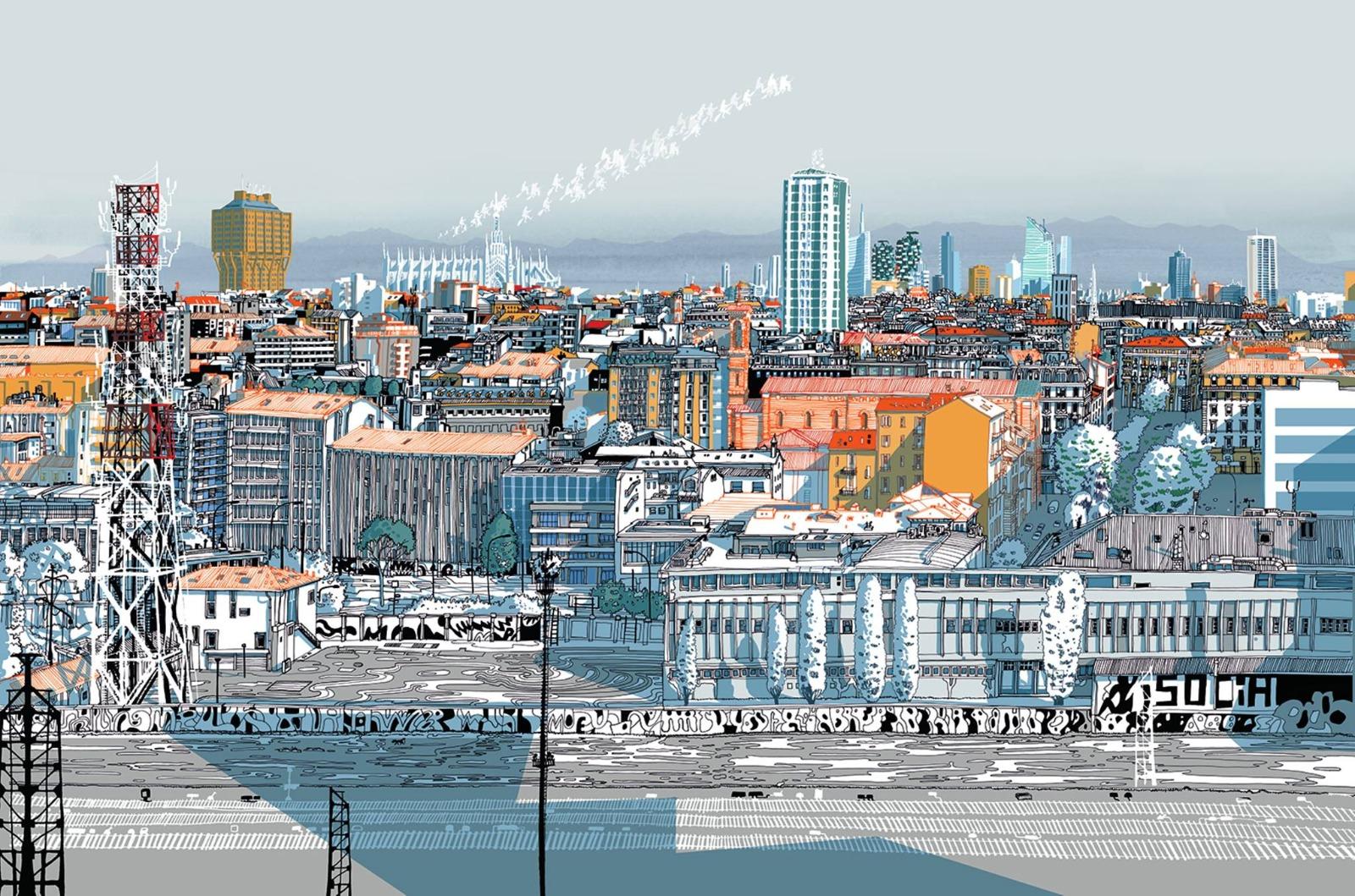 """""""Miracoli a Milano"""" dalla mostra personale di Carlo Stanga realizzata dall'Atelier Bonvini 1909 a Milano."""