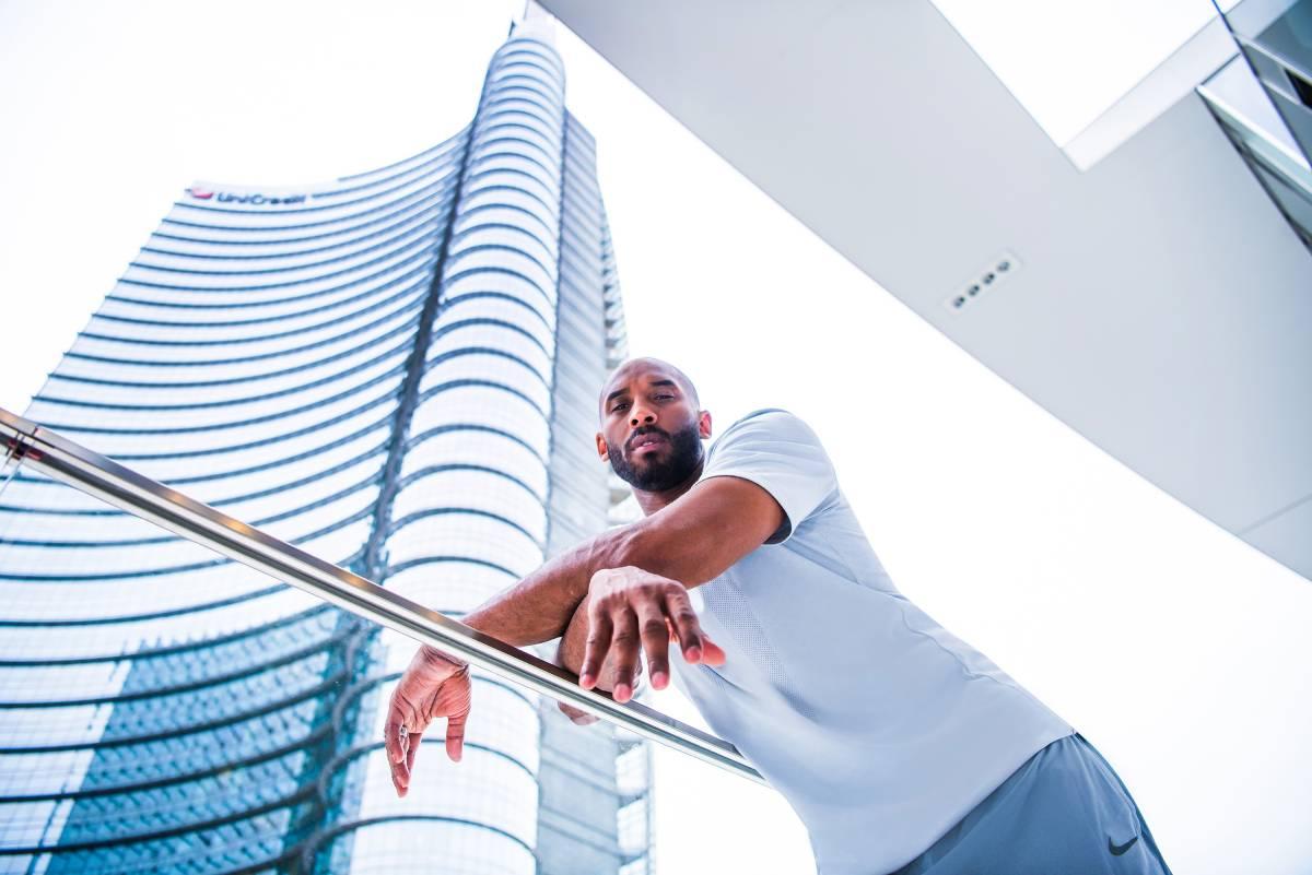 Kobe Bryant a Milano - foto di basketcaffè.com