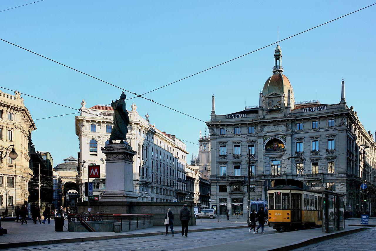 piazza cordusio - foto di Paolobon140
