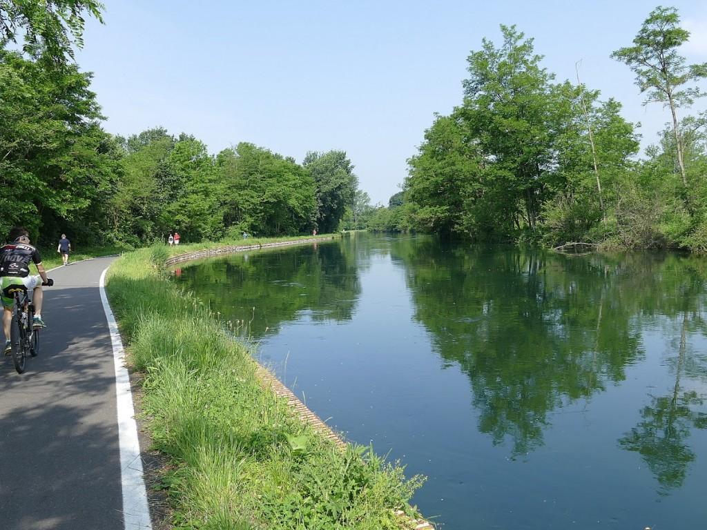 Piste ciclabili nella provincia milanese - foto di G Oggioni perbicitalia.org
