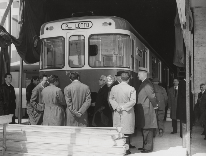 gino cassinis - foto di archivio fondazione fiera