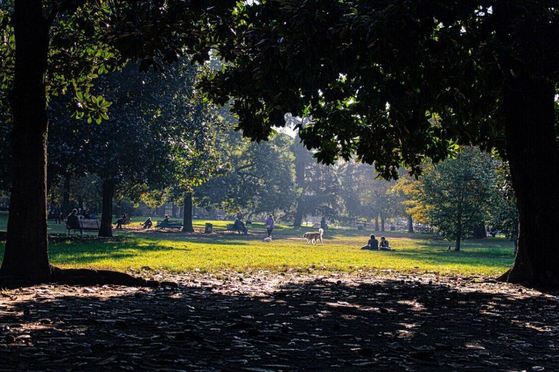 primo parco pubblico milanese - foto di Alessandro Perazzoli