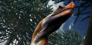 Dinosauro ai Giardini Montanelli